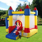 Inflatable Bounce House Castle Kids Jumper Slide Moonwalk Bouncer w/Carrying Bag