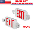 246 Pack Emergency Lights Red Exit Sign Wdual Led Lamp Abs Led Supermarkets