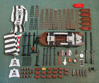 Genuine LEGO Pirate Ship Lot --- Boats, Cannons, Masts, Chests etc.