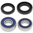 Suzuki GS400X, 1977-1978, Front Wheel Bearings and Seals - GS 400X