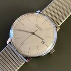 Junghans 38mm Max Bill Automatic Silver Dial Men's Watch - (027/4002.44)