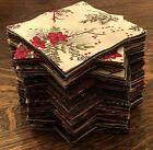 Grab Bag of 80 5 Charm Pack Squares Quality Quilt Shop Fabric 100 Cotton