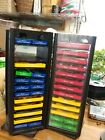 Sizzix Dies Lot 60+ dies red yellow blue and green 2 Towers used condition