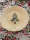 FIESTAWARE CHRISTMAS TREES LUNCHEON PLATE FIESTA 9 inches