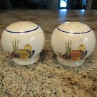 VINTAGE FIESTA MEXICANA IVORY KITCHEN-KRAFT RANGE SHAKERS / GREAT CONDITION!