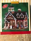 Lemax Oak Hill School Prelit Village Building Holiday Home Christmas Decoration