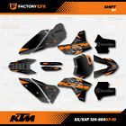 Gray Shift Racing Graphics Kit fits KTM 07-10 Sx Sxf/Exc 125 150 200 250 300 450