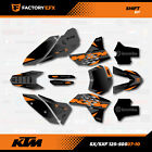 Gray Shift Racing Graphics Kit fits KTM 07-11 Sx Sxf/Exc 125 150 200 250 300 450