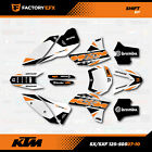 Shift Racing Graphics Kit fits KTM 07-11 SX Sxf/Exc 125 150 200 250 300 450