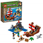 LEGO Minecraft The Pirate Ship Adventure 21152 Building Kit, 2019 386 Pieces