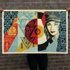 OBEY RAISE THE LEVEL SIGNED NUMBERED SCREEN PRINT CONFIRMED ORDER