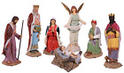 Nativity Set of 8 Life Size Resin Christmas Statues