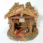 Trim A Home OHoly Night Nativity Manger Stable Shepherds Home 825H x 9L