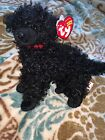 Ty Beanie, Smudges, 2004 Curly Haired Black Poodle, MWMT & HTF, excellent cond.