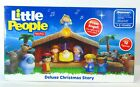 Fisher Price Little People Deluxe Christmas Story Nativity New in Box