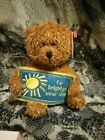 Ty Original Beanie Babies, Greetings To Brighten Your Day, Beanie Bear 2006. 34d