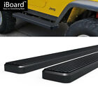 5 Black eBoard Running Boards Fit Jeep Wrangler TJ YJ 2Dr 87 06
