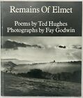 Ted Hughes Remains of Elmet A Pennine Sequence SIGNED 1st Edition Faber 1979