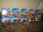 Hot Wheels 5 Alarm Fire Engine Fire Truck Lot of 6 Variation Race World Rescue