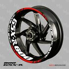 SUZUKI GSX-R 600 wheel decals tape stickers gsxr600 Reflective 17 rim stripes