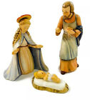 Vintage Hummel Goebel Nativity Figurines Jesus Mary and Joseph 1951 214 A 214B