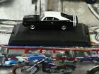 New Oxford Diecast Vehicles 1/87 HO Scale 1968 Dodge Charger Black / Wht  *HOT*