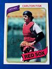 Carlton Fisk Cards, Rookie Card and Autographed Memorabilia Guide 6