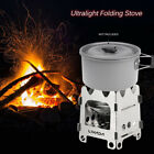 Lixada Outdoor Stove Portable Stainless Steel Pocket Camping Alcohol Stove BBQ