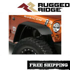 Rugged Ridge All Terrain Fender Flare Kit Fits 2007 2018 Jeep Wrangler JK
