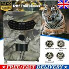 UK 12MP HD1080P Hunting Trail Camera Video Wildlife Scouting IR Night Vision Cam