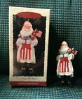 1996 HALLMARK KEEPSAKE Christmas Ornament QX5654 Merry Olde Santa MIB US Flag