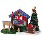 Lemax 2019 Woodland Countdown Vail Village #93436 Swappable Numbers Collectible
