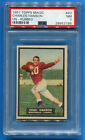 1951 Topps Magic Football #43 CHARLES HANSON PSA 7 UN-RUBBED Low Pop