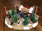 Lemax Village Collection Tim's Christmas Tree Farm RARE PIECE EXCLUSIVE TO SEARS