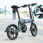16 Variable Speed Foldable Electric Bicycle Moped E Bike 250W Brushless Motor