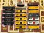 N scale Round House freight cars asst roads and types Var couplers