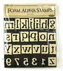 The Paper Studio Foam Alpha Stamps Alpha Blocks Numbers Letters 62 Piece NEW