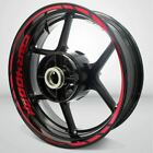 Motorcycle Rim Wheel Decal Accessory Sticker for Honda CBR 400 RR