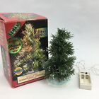 Lemax Christmas Village Spruce Tree White Tipped Shimmering Multi Color 6 Inch