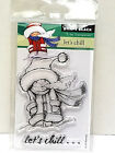Penny Black LETS CHILL Mini Clear Stamp 30 390 New