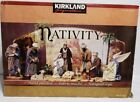 Kirkland Signature Nativity Set 20 piece Tissue Mache Set New rare 404603