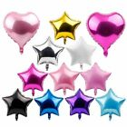18 Foil Star Heart Round Balloons Wedding Party Happy Holiday Decor Baby Shower
