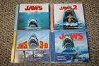 JAWS - JAWS 2 - JAWS 3D - REVENGE CD - Soundtrack Limited Edition INTRADA lot