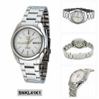 Seiko 5 Automatic Mens Analog Business Silver Band SNKL41K1