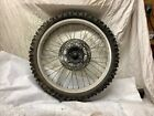 1984 Honda XL350R. Front Wheel