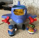 Fisher Price LITTLE PEOPLE ADVENTURE AIRLINES 72597 Comes w 2 Little People