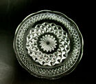 Butter Plate Wexford Pressed Pattern Glass Vintage