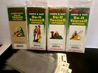 Lot of 4 Yard Art Do it Yourself simple and easy patterns Christmas Nativity