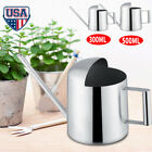 300 500ML Stainless Steel Watering Can Plant Watering Pot Bottle Flower Sprayer