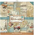 Stamperia Double Sided Paper Pad 8X8 10 Pkg Around The World